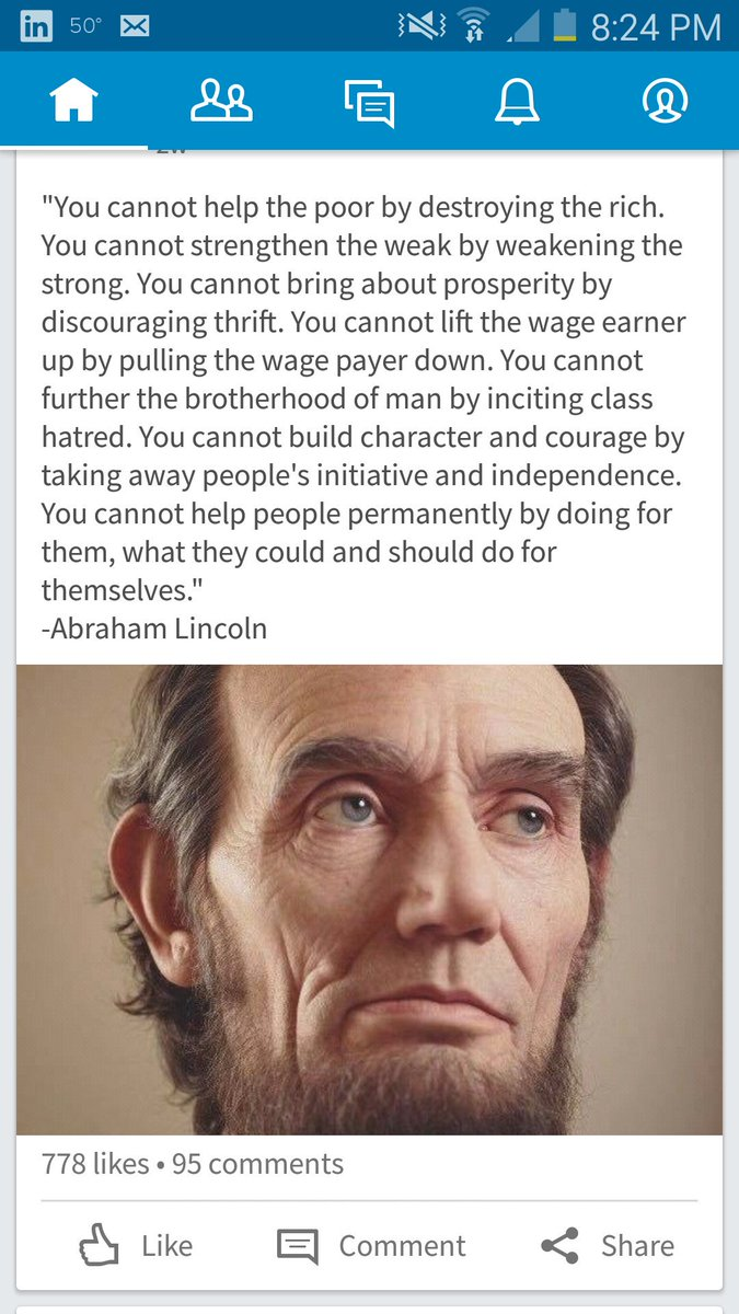Just thinkhow long ago Abe had this figured out https://t.co/6md2BKyMpM