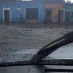 Lluvia causa inundaciones en La Antigua Guatemala. Foto @elronnyguate. Vía @prensa_libre https://t.co/XrlNLCQ6R9