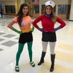 Homecoming week day 2:MERMAID MAN AND BARNACLE BOY TO SAVE THE DAY😵😂 https://t.co/iJ3Ju5iu2G