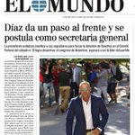 "Buenas noches!! ""Susana Díaz da un paso al frente y se postula como secretaria general"" vía @elmundoes #EnPortada https://t.co/yjQrovDZiC"