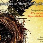 "¡Sorteamos 3 ejemplares de ""Harry Potter y el legado maldito""! Para participar: -Da RT -Sigue a @Atlantica30 #LegadoMaldito https://t.co/rhl6gUmqbC"