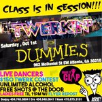 #TwerkNForDummies x #AmeTwerkers 😈😇 Make Some Shake This Saturday Night Ladies FREE W/Flyer Repost   https://t.co/oi0Oeh2eu3