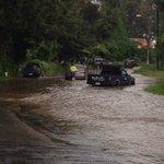 En el sector del Panorama Antigua Guatemala reportan inundaciones. Carros han quedado varados. Precaución. https://t.co/mThyS3WPPF
