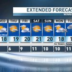 Into the 20s for the #weekend as high pressure clears us, warms us and makes us all happy #cbcmb #autumn https://t.co/Pvdn8RIAAZ