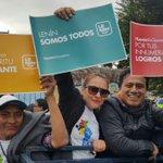 Esta es la muestra que todo el Ecuador esta contido @Lenin #BienvenidoLenin ¡Todos ya en la Tribuna del sur! https://t.co/pYNV2nXvI8