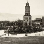 Plaza y Torre del Reloj de Iquique en 1910. https://t.co/YgdyJrw0nF