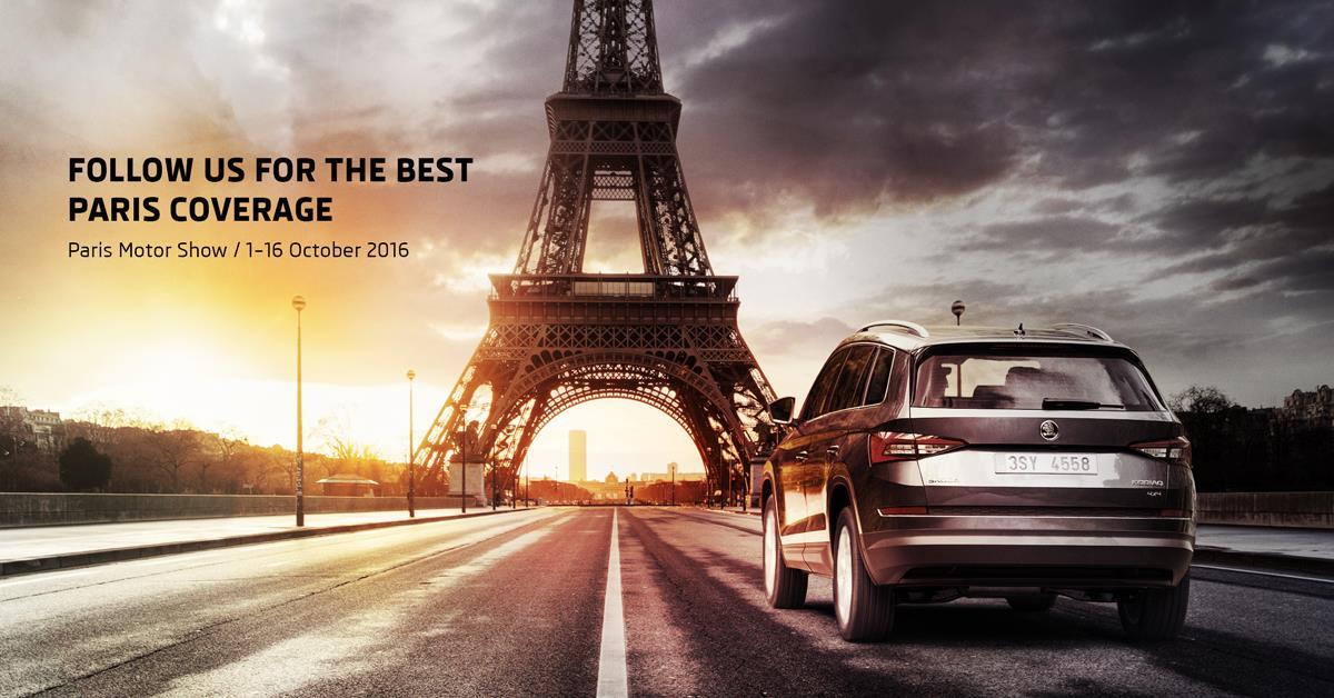 #ParisMotorShow: Paris Motor Show