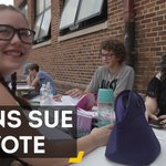 These teens in Ohio sued their state for the right to vote in this election. https://t.co/nhuP47IKlJ
