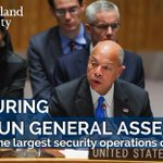 Heres how the Department of Homeland Security worked with our partners in #NYC to secure #UNGA → https://t.co/9g8w5yJwKs