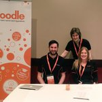 The #Moodle helpdesk is open here at #MootAU16. We are ready to answer all your Moodle questions! #Perth #edtech https://t.co/p42bvQG20p