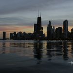 Tuesdays Sunset along Chicagos Lakefront #weather #news #chicago https://t.co/3sibuMy62g