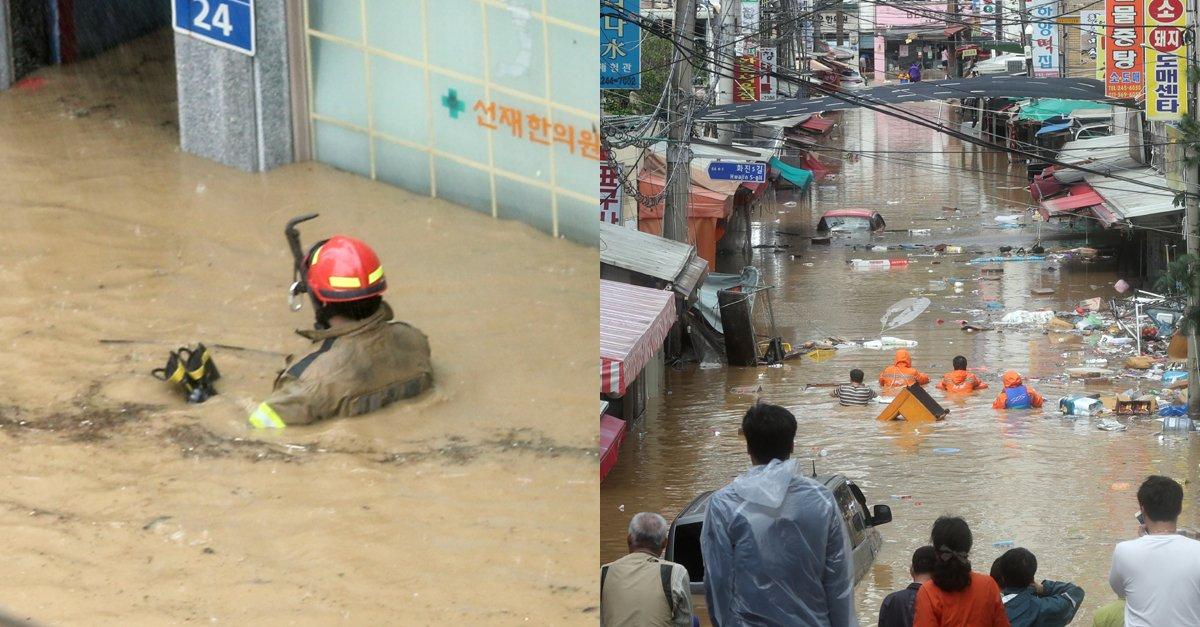 정말 안타깝습니다... 😢  태풍에 주민 구조하다 실종된 소방대원, 숨진 채 발견  https://t.co/YKlbjXbatY