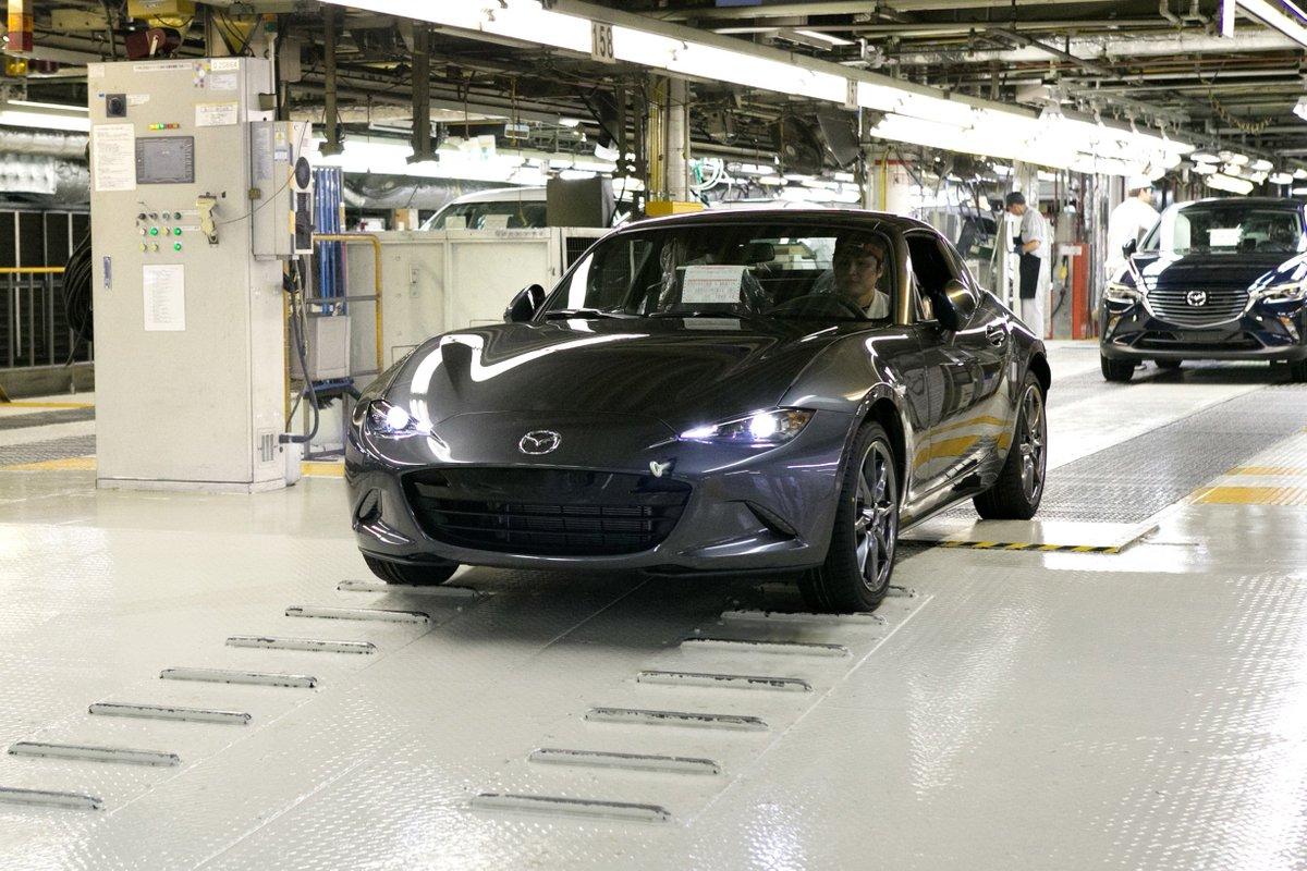 「Mazda MX-5 RF」の生産を開始しました!⇒https://t.co/0LlsNOnsPT #MX5RF https://t.co/OQxEAVCIfZ