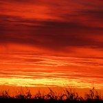 WOW! Sky on fire sunset tonight in Waseca, Minnesota. Photo courtesy of Hilary Kruger. #Sunset #Waseca #MNwx https://t.co/LLCNa6szu8