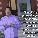 @NicolasMaduro dice ¡AQUÍ ESTOY! Y el pueblo le dice: ¡Y AQUÍ SEGUIMOS COMANDANTE...SEGUIMOS! #ContactoConMaduro68 https://t.co/8AlvORcgjm