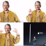 I have a pen ,I have an Apple. Ugh Apple-pen #PPAP #🖊🍍🍎🖊 https://t.co/QgrzXRGP7o