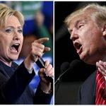 トランプ「これってもしかして」 クリントン「私たちの身体が」 「「入れ替わってる~!」」  (米の全全全候補者から二人が選ばれたよ)  「私の顔で暴言吐かないで!」 「俺の主義主張を勝手に変えるなよ!」  「あのジジイは~!」 「あのババアは~!」  『新大統領の名は。』近日公開 https://t.co/rymF6rifYg