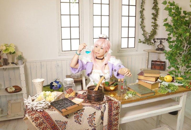 【コス】エスカ&ロジーのアトリエ:エスカ・メーリエphoto by :鳴海さん(   )