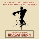 Remembering our one of the greatest freedom fighters, #ShaheedBhagatSingh on his 109th birth anniversary. 💐 https://t.co/uNn7aeRKRK