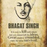 Remembring #ShaheedBhagatSingh on birth anniversary 🙏 Hes one of his kind, no1 will evr cm evn close to his legacy! https://t.co/zkqRPIgvmg