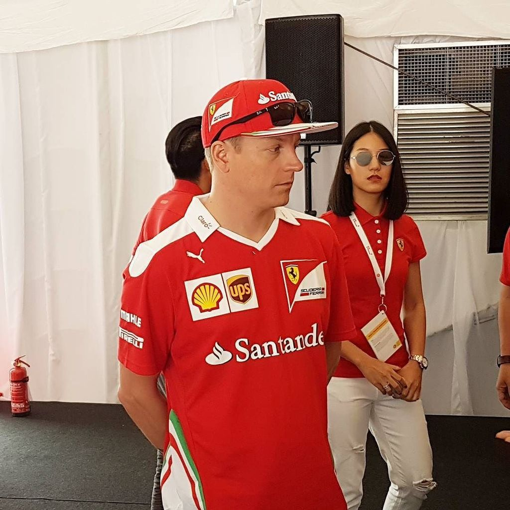 Iceman cometh #shell #vpower #f1 #formula1 #ferrari https://t.co/PzMnllMf2M https://t.co/HSngwGWC7p