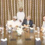 #هاشتاق_عمان (شؤون عمانية): توقيع اتفاقية إعداد المخطط التفصيلي لمدينة الدقم الجديدة. #عمان … https://t.co/Nl7q5p0iV6