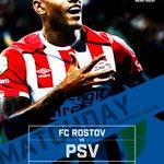 MATCHDAY! PSV neemt het vanavond in de Champions League in Rusland op tegen FC Rostov. Come on boys! #rospsv https://t.co/SfkBBRxAfi