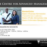 Learn about @dalsimnews Master of Information Management at our Toronto Info. session @DalManagement https://t.co/C1kU6XGaVE