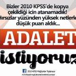 2010 KPSSnin atanamayan mağdurları, 6 yıldır yenilen hakkımızın iadesini istiyoruz. #2010KPSSTT @TulaySelamoglu https://t.co/rzlu2xR42h