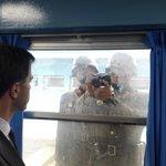 Rutte maakt vrienden in de DMZ. En nee, dit keer geen pleur op voorbij horen komen. #zomergasten https://t.co/FsANkBQBIV
