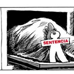 Contundente viñeta de Gallego y @ReyDibujante en @elmundoes sobre la sentencia del Madrid Arena. https://t.co/5S3cDysJEq