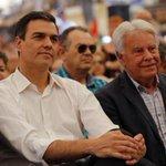 """Felipe González: """"Me siento engañado por Pedro Sánchez, me dijo que se abstendría"""" https://t.co/LG61qHPPCu https://t.co/317dOALRAv"""