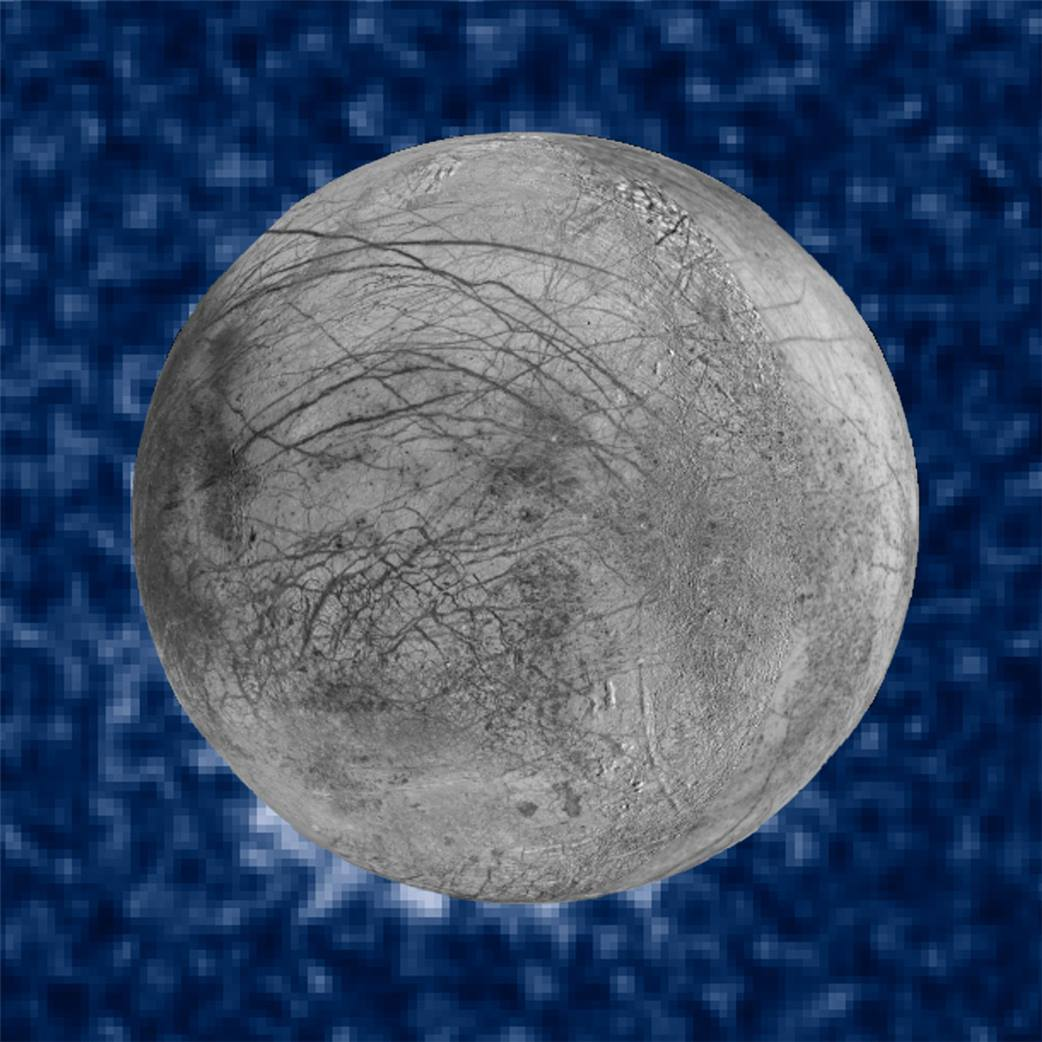 NASA has spotted what appear to be water plumes on the surface of Jupiter's moon Europa. https://t.co/jJZ44HNcY7