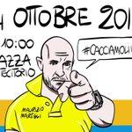 #RenzieTeNeDeviAnnà😈 Il 14 ottobre tutti con @MauYuketto 👍 #CacciamoliVia https://t.co/f4m8cWjWor