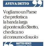 La coerenza, prima di tutto #pontesullostretto #Renzi #ipsedixit https://t.co/kzdQh0flCD