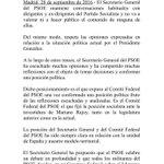 Respuesta de @sanchezcastejon ante las palabras de Felipe González https://t.co/B6SyIR2YIC
