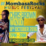 Travelling down at the coast for the #MombasaRocks festival featuring @chrisbrown and @wizkidayo? https://t.co/cTMbf6WGt5