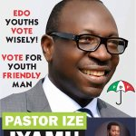 Vote wisely 4 Edo poll #Vote Iyamu 4 Edo Governor https://t.co/oMFQEb5QRG
