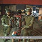 VIDEO: 14 detenidos tras incidentes en la Unap https://t.co/cf7tcv6zHl #Iquique https://t.co/OEpyGoHITb