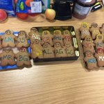Our wondering administrator has made our entire research team in gingerbread @RRG_Edinburgh #GBBO #GBBO2016 https://t.co/w3Yrsaw3D7