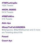 Trending! Laban Ginebra! #KeepTheFaithGINEBRA https://t.co/x6VtbbfZ3C