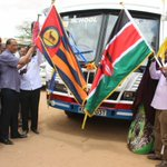Governor @NathifAdam flags off new school bus donated by Garissa County to #Dertu Girls Secondary School -Masalani. #NathifTransformsGarissa https://t.co/iJ5WJAnHxj