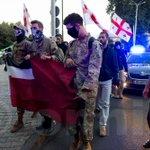 Last night's Ultra-Nationalist / Neo-Nazi March in Tbilisi, Georgia. More at https://t.co/QzXgBUKAQ6. #caucasus https://t.co/iKtbP0Bikw