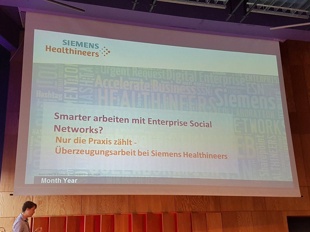 Carsten Rossi (@CarstenRossiKR): Jetzt Siemens ESN beim #io ...