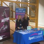 Visit us at the Sports Fair today !!!! @CUSportsActive @sportcoventry @cusu https://t.co/rPXrccFRMG