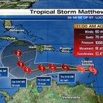 Tropical Storm Matthew forms in the Windward Islands https://t.co/lWoPLzSd8x