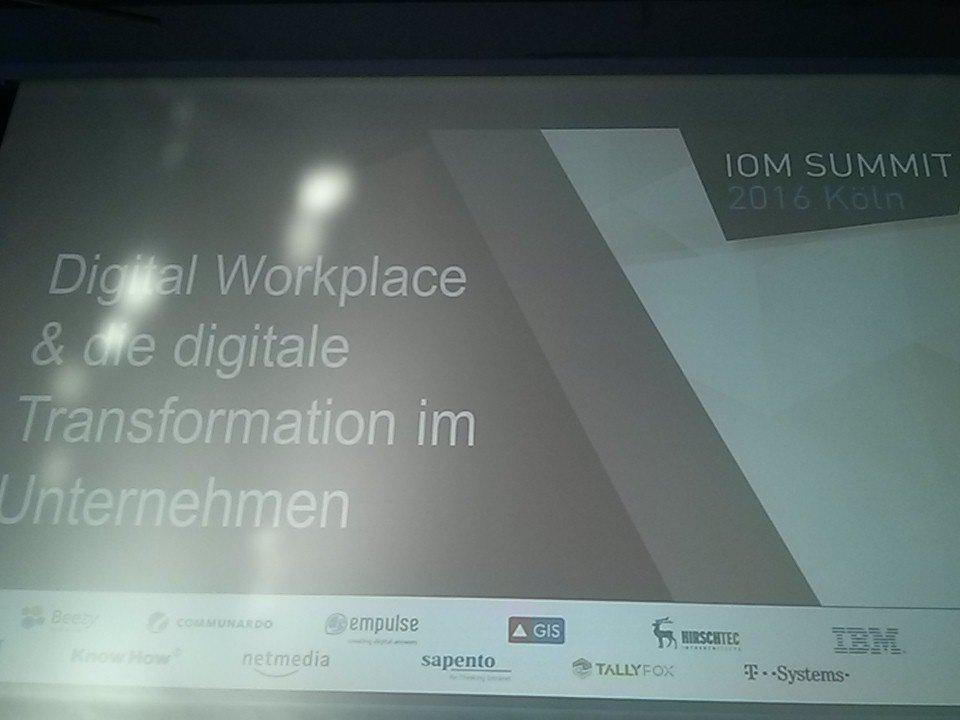Franz Langecker (@hrp_fla): #ioms16 Schirmer: Es gibt  ...