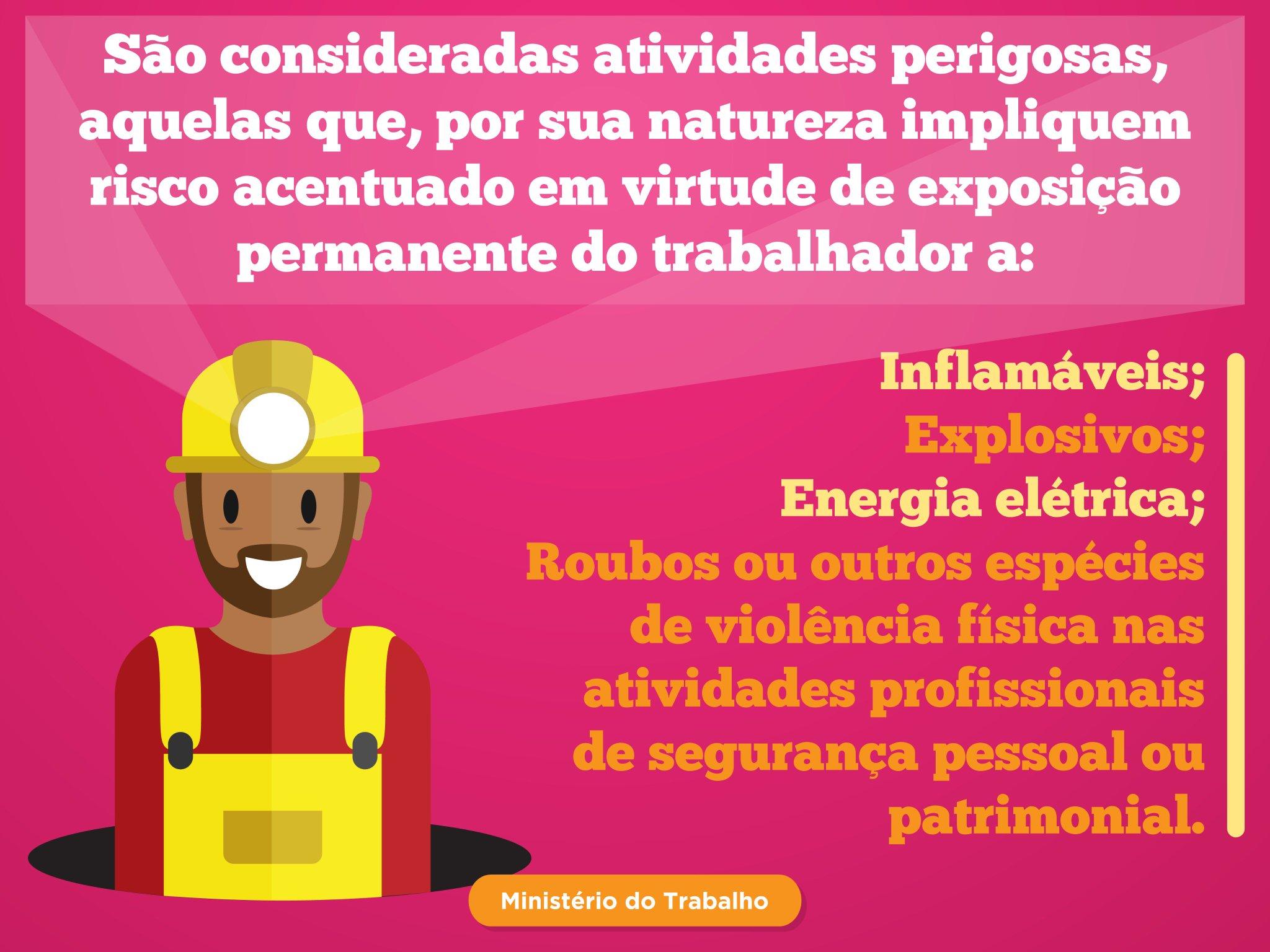 #DireitosDoTrabalhador | Existem situações em que o trabalhador tem direito ao Adicional de Periculosidade. Confira! https://t.co/MK1VMN13Xs