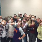 7-8s enjoying a smilk break in music class #moo @schoolmilknl @mpipanthers Thanks for the treat! https://t.co/15erKOWXEP