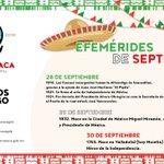 México celebra este año el 206 aniversario de su Independencia. Efemérides del mes de septiembre. #Cuernavaca https://t.co/pY32Af0IEE